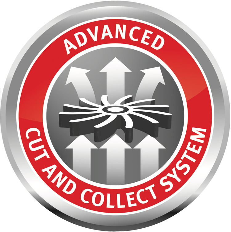 DAS ADVANCED CUT AND COLLECT SYSTEM ACC – PERFEKTER SCHNITT. OPTIMALE GRASAUFNAHME.
